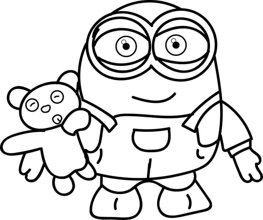 Minion Coloring Pages | Crayons and Primitives