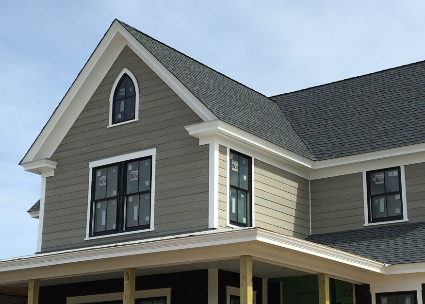 Building A Cornice Jlc Online Exteriors Molding Millwork And Trim Framing Roof Architecture Modern Roofing Roof Lantern
