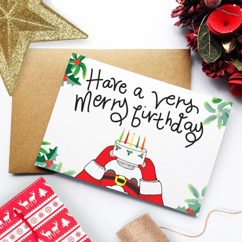 10 Best Christmas Birthday Card In 2021 Christmas Birthday Cards Birthday Cards Christmas Birthday