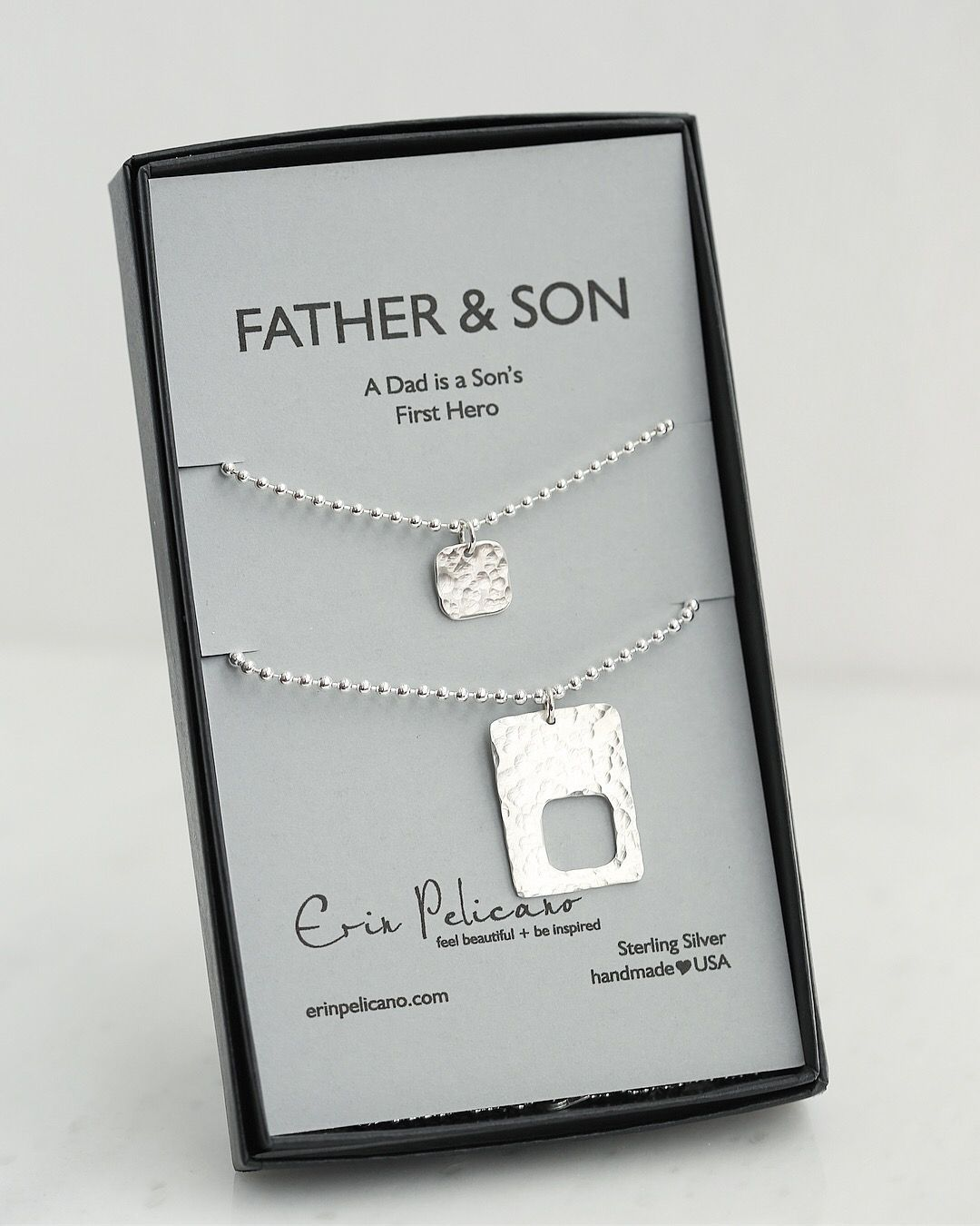 Father Son Gifts Birthday Gift For Dad New Ideas Daddy And Me Silver Mens Jewelry