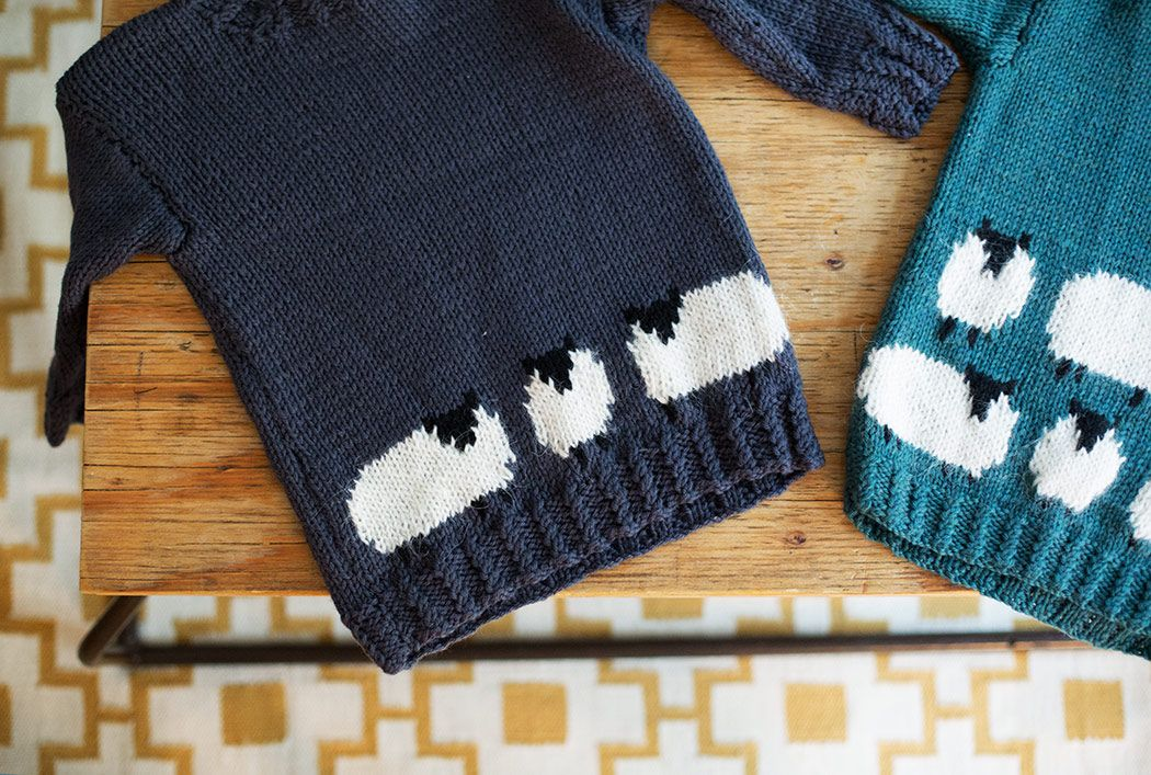 sheep-sweater, knitting patterns for children. Holiday knitting ...