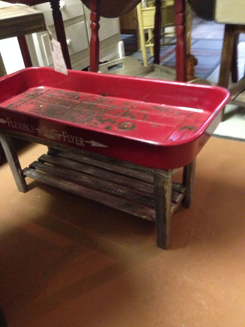 Wagon Coffee Table Coffee Shop Decor Repurposed Wood Projects