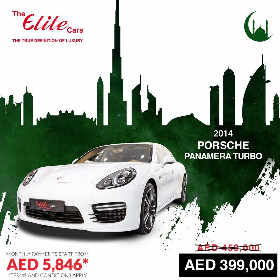 Discover Our Ramadan Secret Sale On PORSCHE PANAMERA TURBO