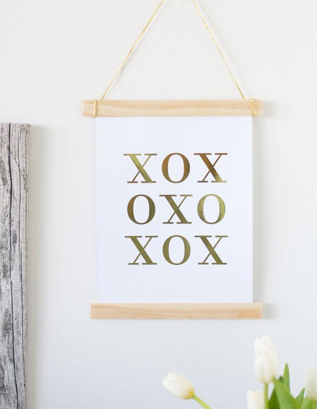 Diy Wood Art Hanger Frame Wall Art Pinterest Diy Wood