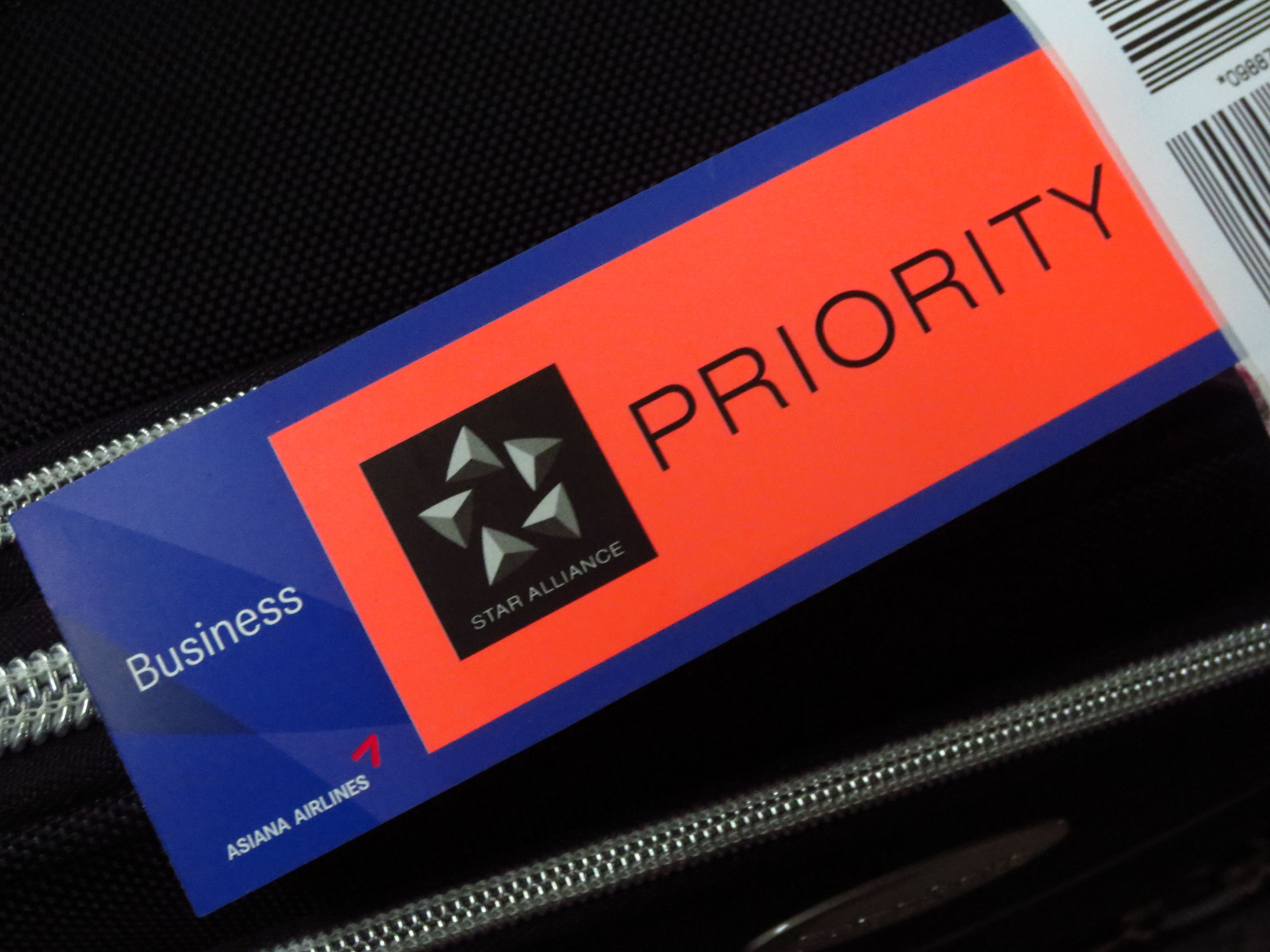 Priority Tag: Pin By Asiana Airlines On Asiana Club