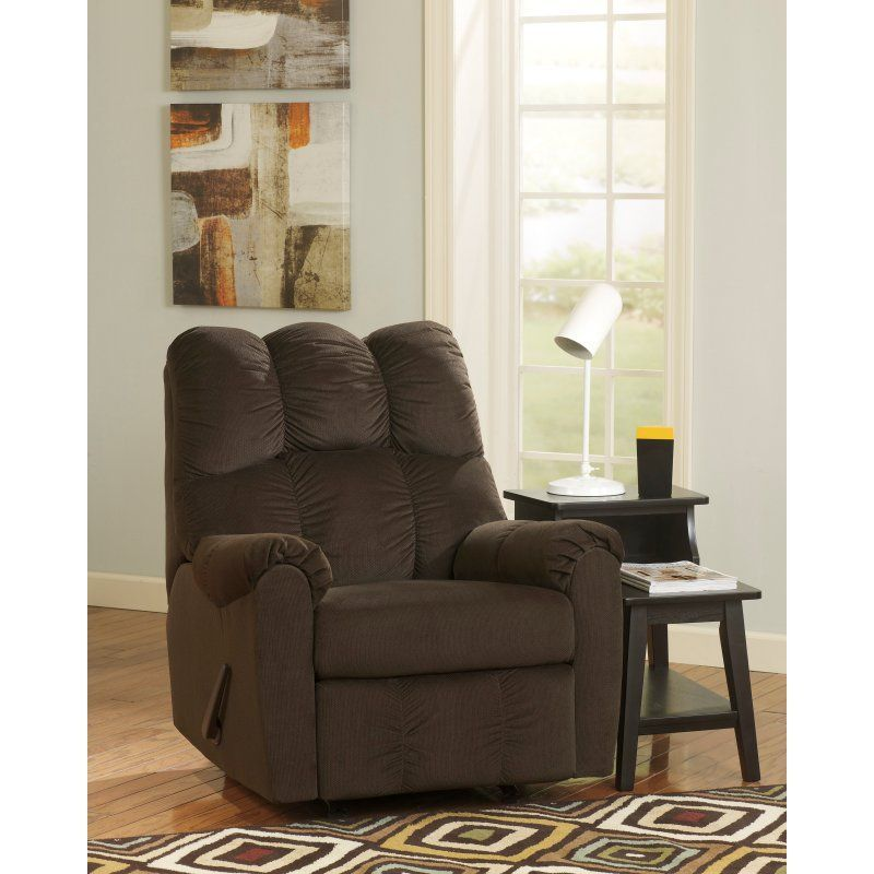 Flash Furniture Raulo Rocker Recliner Chocolate - FSD-6719REC-CHO-GG