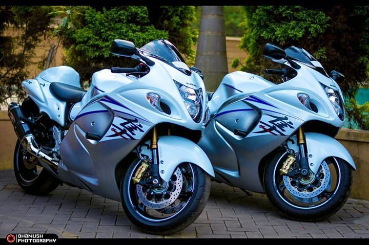 Twinning The Mighty Hayabusa Mangalore Lifestartsattheredline