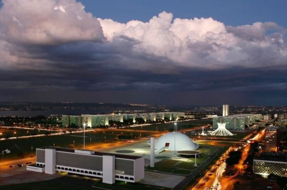 """Architecture: Oscar Niemeyer, Architect Who Gave Brasília Its Flair, Dies at 104: An excellent article, by the renowned architecture critic Nicolai Ouroussoff..""""..Oscar Niemeyer, the celebrated Brazilian architect whose flowing designs infused Modernism with a new sensuality and captured the imaginations of generations of architects around the world..""""    The article includes a slideshow, here."""