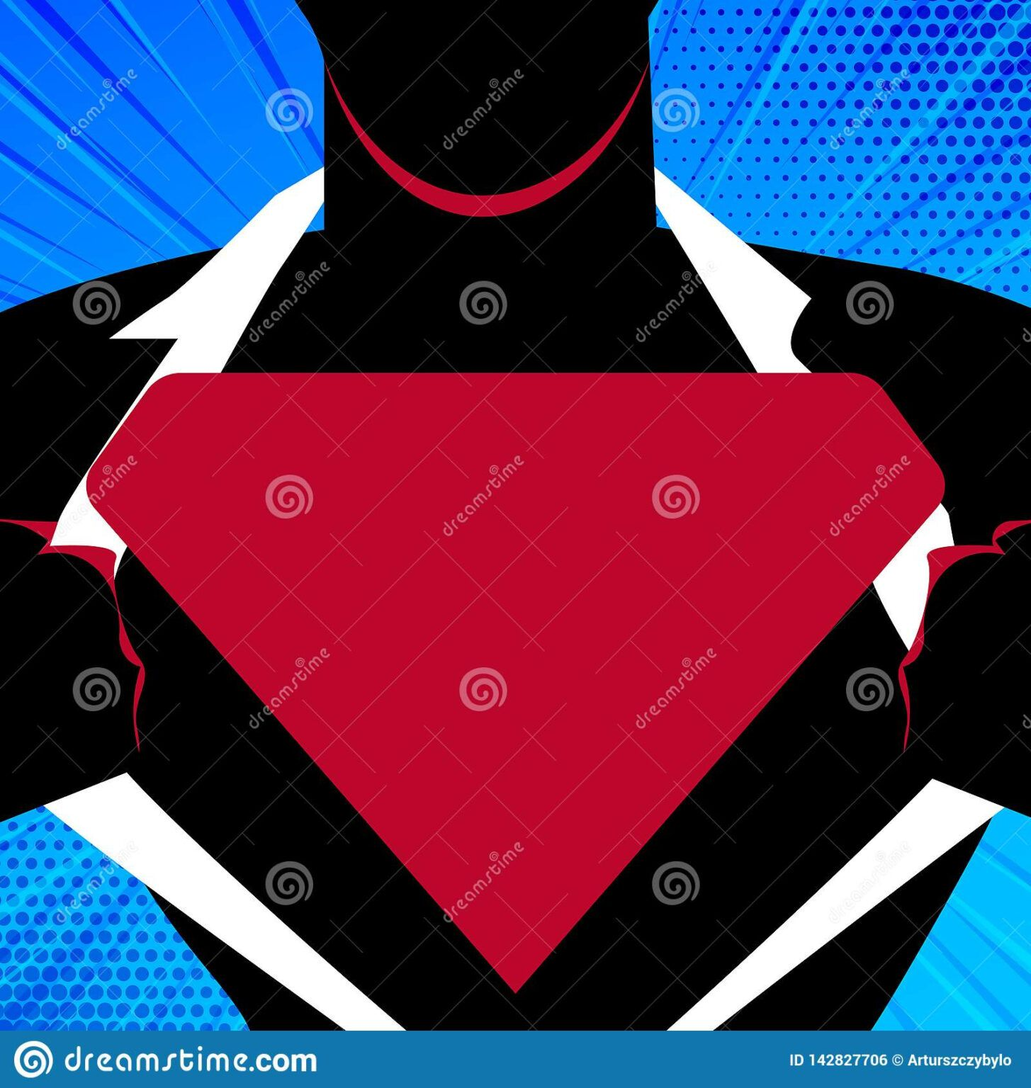 Man In Superman Pose Opening Shirt To Reveal Blank Inside Blank Superman Logo Template In 2020 Superman Logo Logo Templates Professional Templates