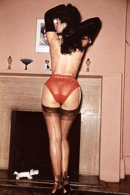 behind from Bettie page