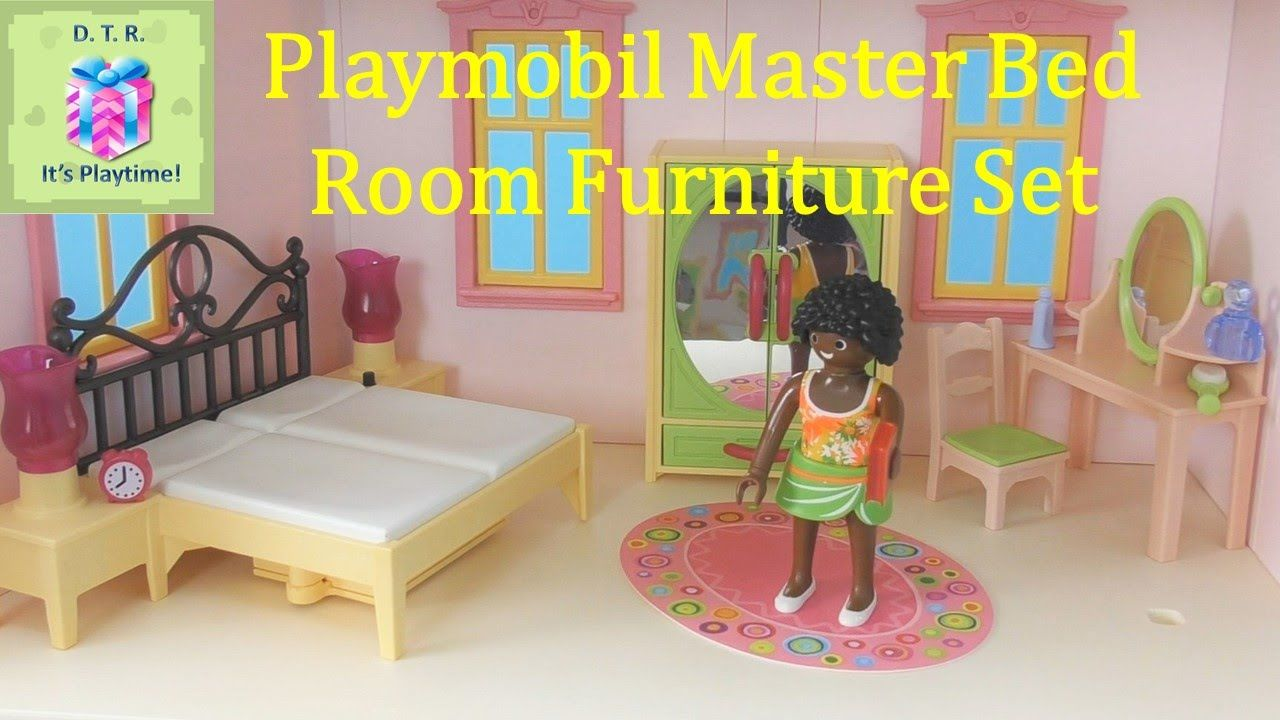 PLAYMOBIL 5309 Master Bedroom Furniture Set Unboxing