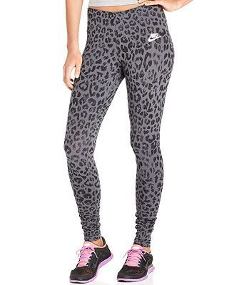e441d09a060a2 nike cheetah print running pants | Nike Pants, Leg-A-See Animal-Print  Active Leggings