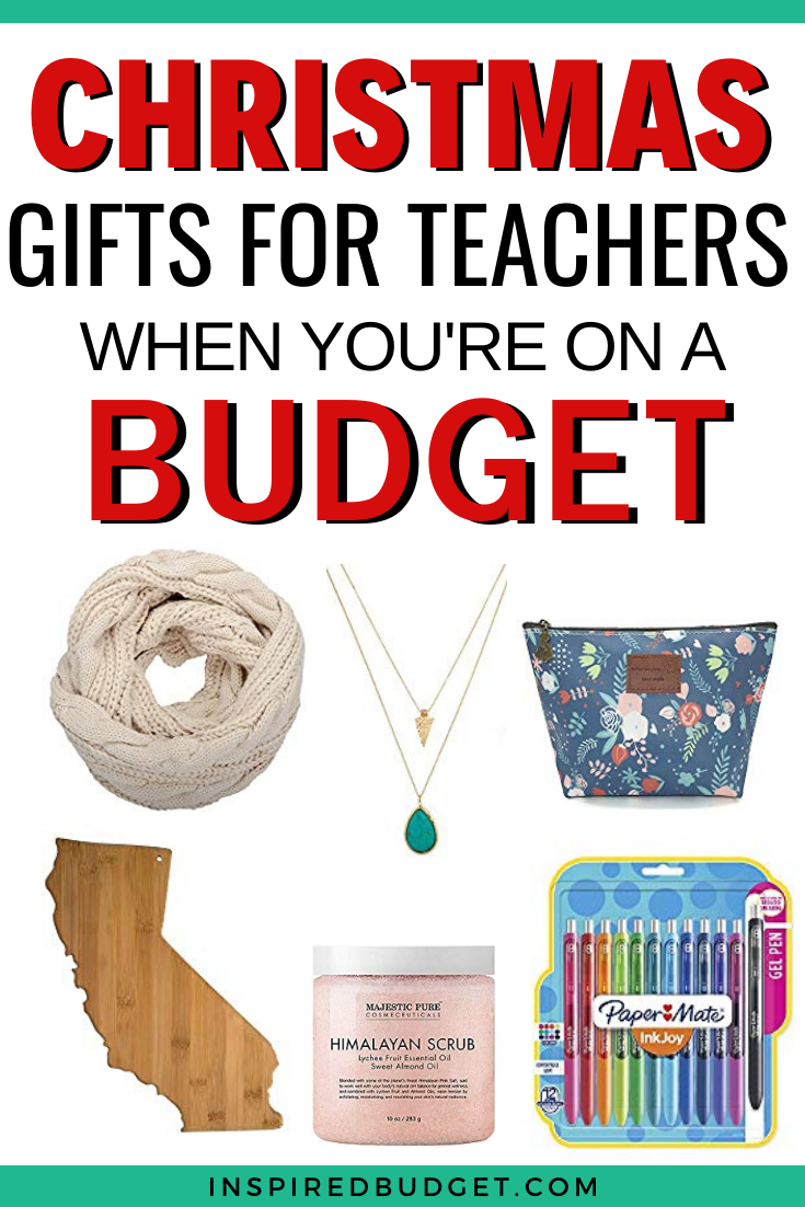 The Best Budget Friendly Teacher Gifts - Inspired Budget