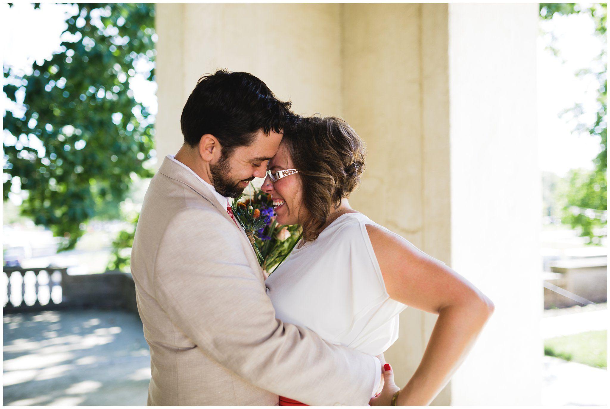 Amanda and gregoryus intimate wedding at the american swedish