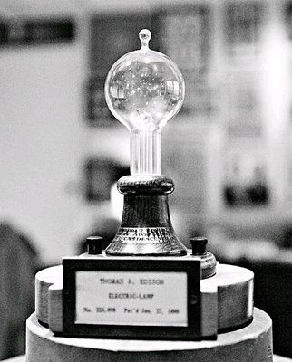 Edison Perfects Light Bulb This Day In Tech History Light Bulb Thomas Edison Light Bulb Edison Light Bulbs