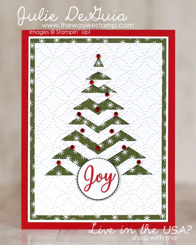 Lace Fold Christmas Tree By Julie DeGuia