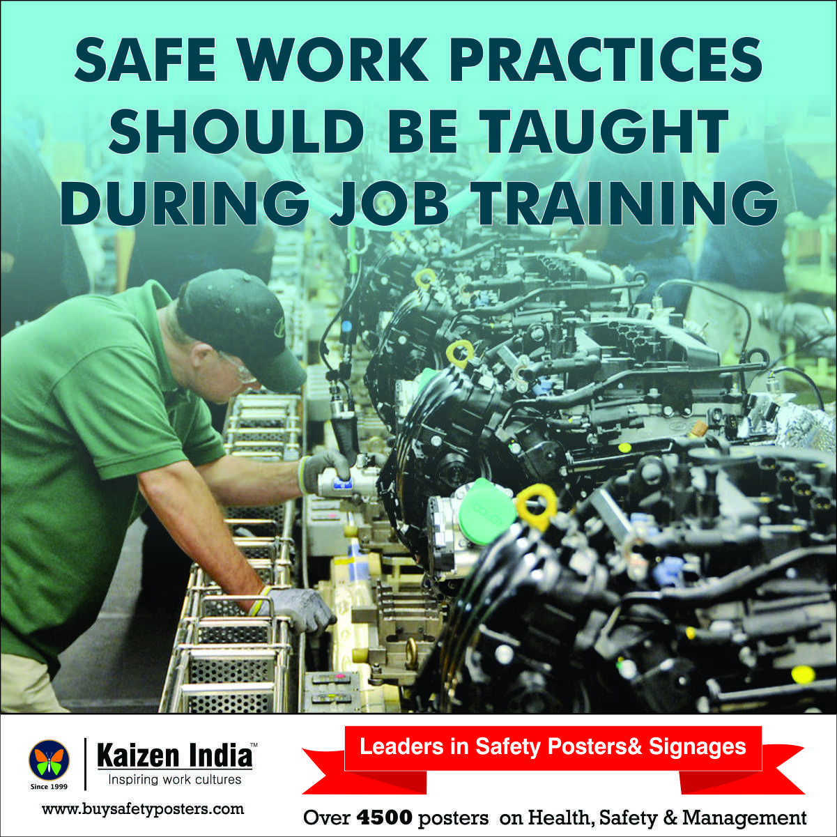 Safe work practices should be taught during Job Training