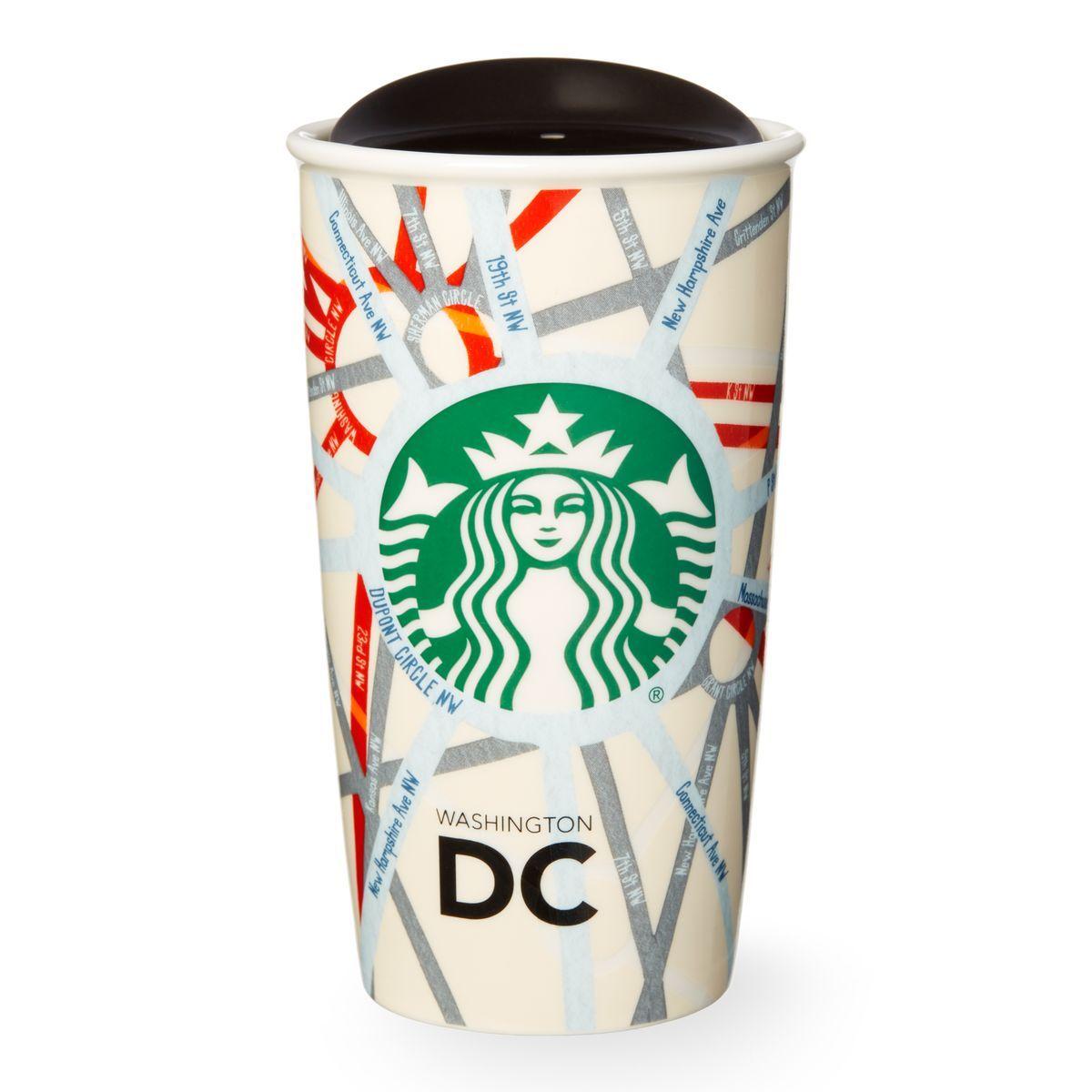 Starbucks Double Walled Travel Mug Pattern