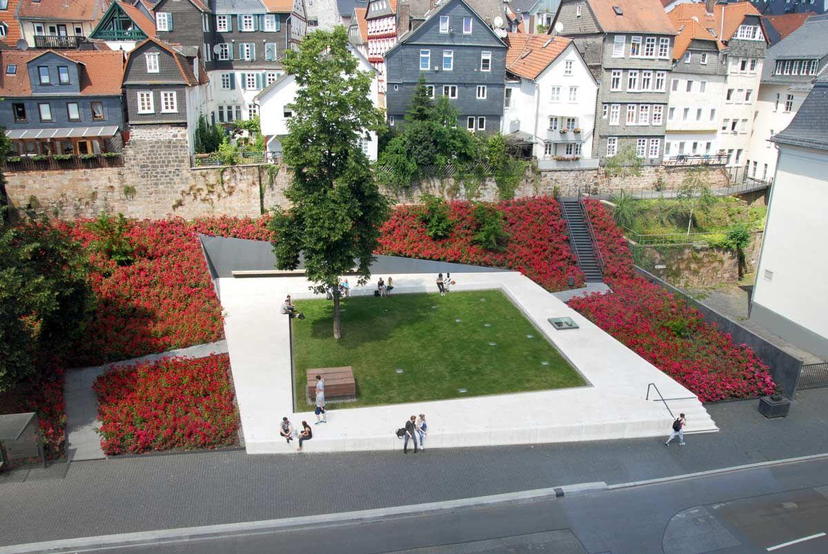 Marburg-Ehemalige-Synagoge_Garten-des-Gedenkens-Nutzel  / scape Landschaftsarchitekten GmbH