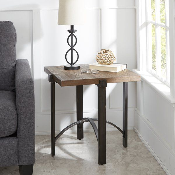Baratta Distressed End Table in 2018 End Tables Pinterest End