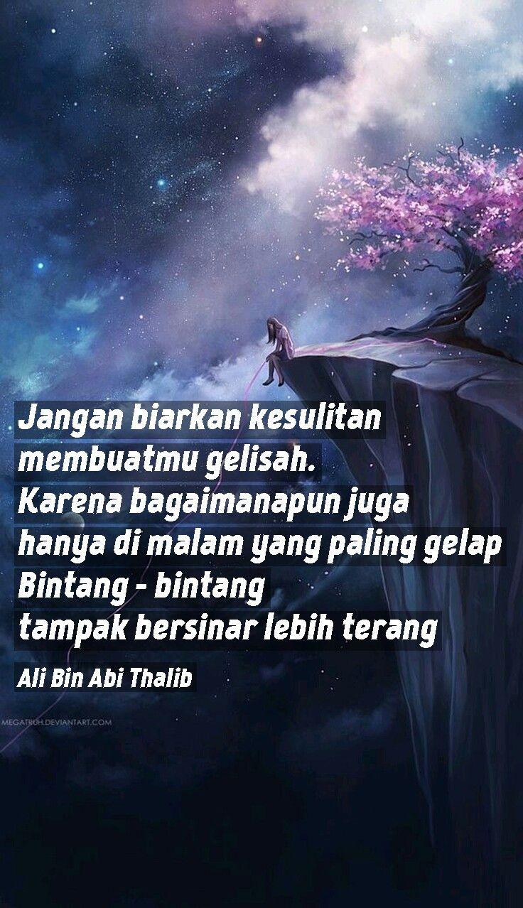 Wallpaper quotes ali bin abi thalib Katakata indah