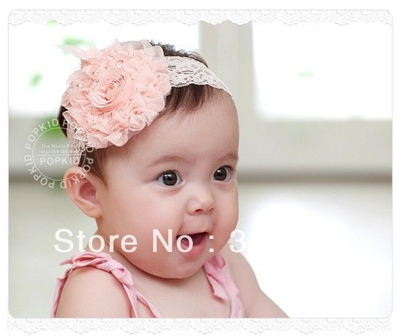 Hot Toddler Infant Toddler Baby Girls Bow Headband Hairband Headwear Accessories