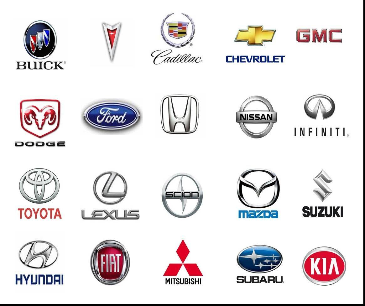 car brands logos names