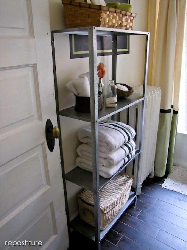 aged metal bathroom shelf.jpeg | Furntiure Ideas | Pinterest | Aging ...