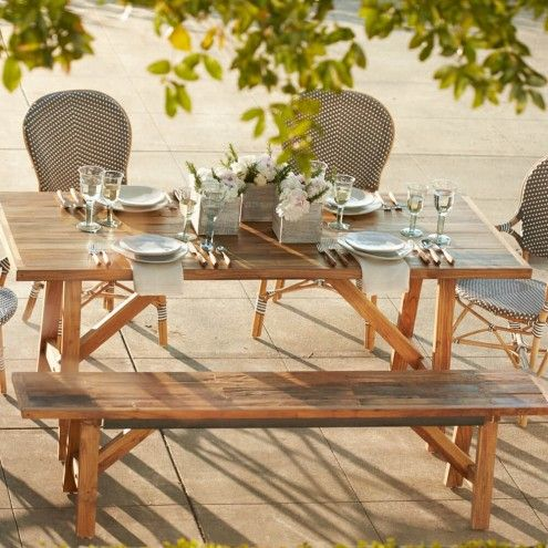 Teak Four Season Table And Bench Dining Table With Bench Dining Table Chairs Dining Table