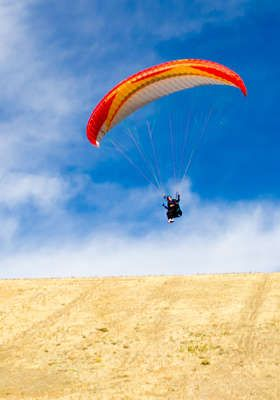 Yes, please!    Point of the Mountain Paragliding    Three Paragliding Lessons…