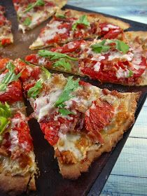 grain-free blt pizza (dairy recipe)