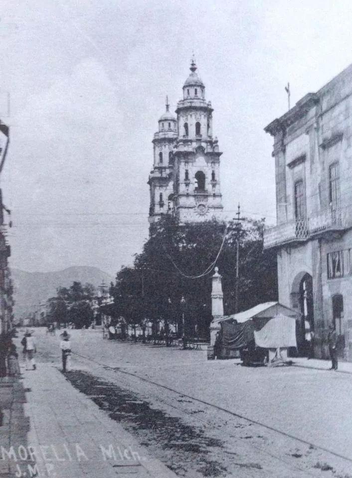 Calle Real a principios del siglo XX.