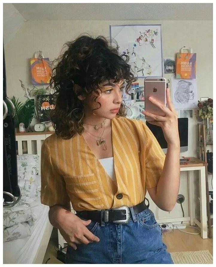 Photo of 40+ schicke lockige Frisuren für Frauen 2019 »Educabit,  #CurlyHairstylesforsc…
