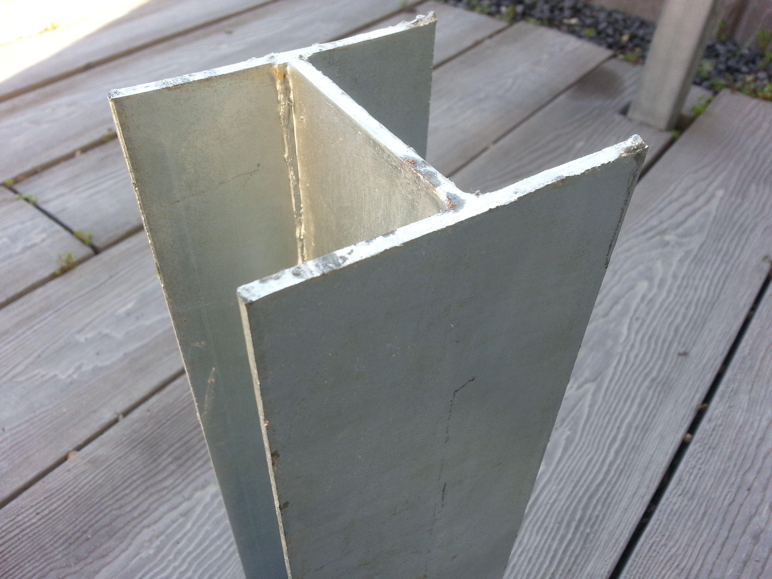 Galvanized Retaining Wall Posts Shapeyourminds Com