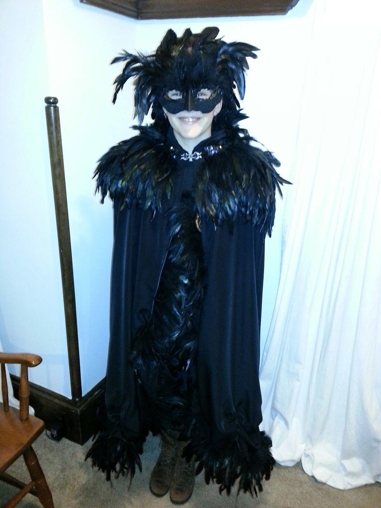 Crow / Raven Halloween Costume Crow costume, Raven