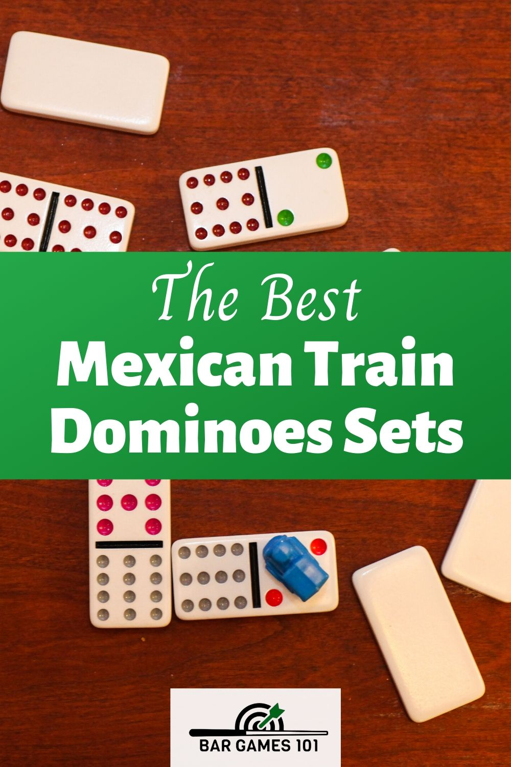 The Best Mexican Train Dominoes Sets Bar Games 101 in