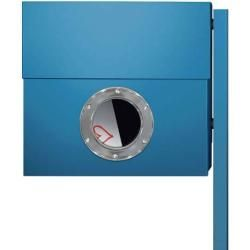 Photo of Radius Design Letterman Xxl Briefkasten blau (ral 5012) ohne Klingel ohne Pfosten Radius Design