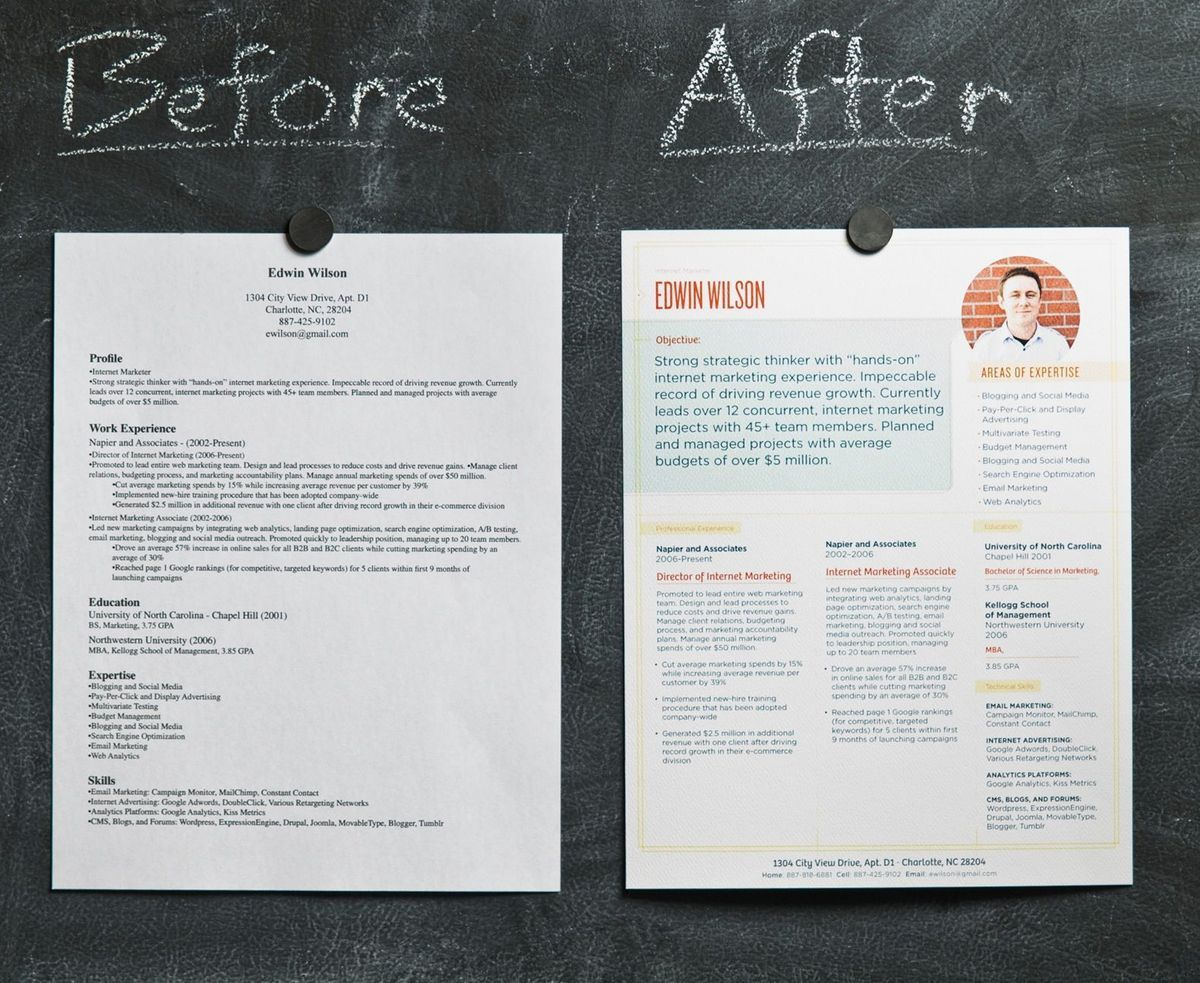 Can Beautiful Design Make Your Resume Stand Out? | Resume format