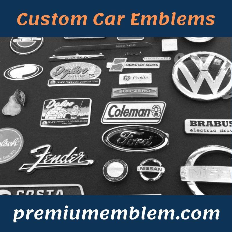 Premium Emblem Custom Chrome Auto Emblems Custom Car Emblems Car Emblem Emblems