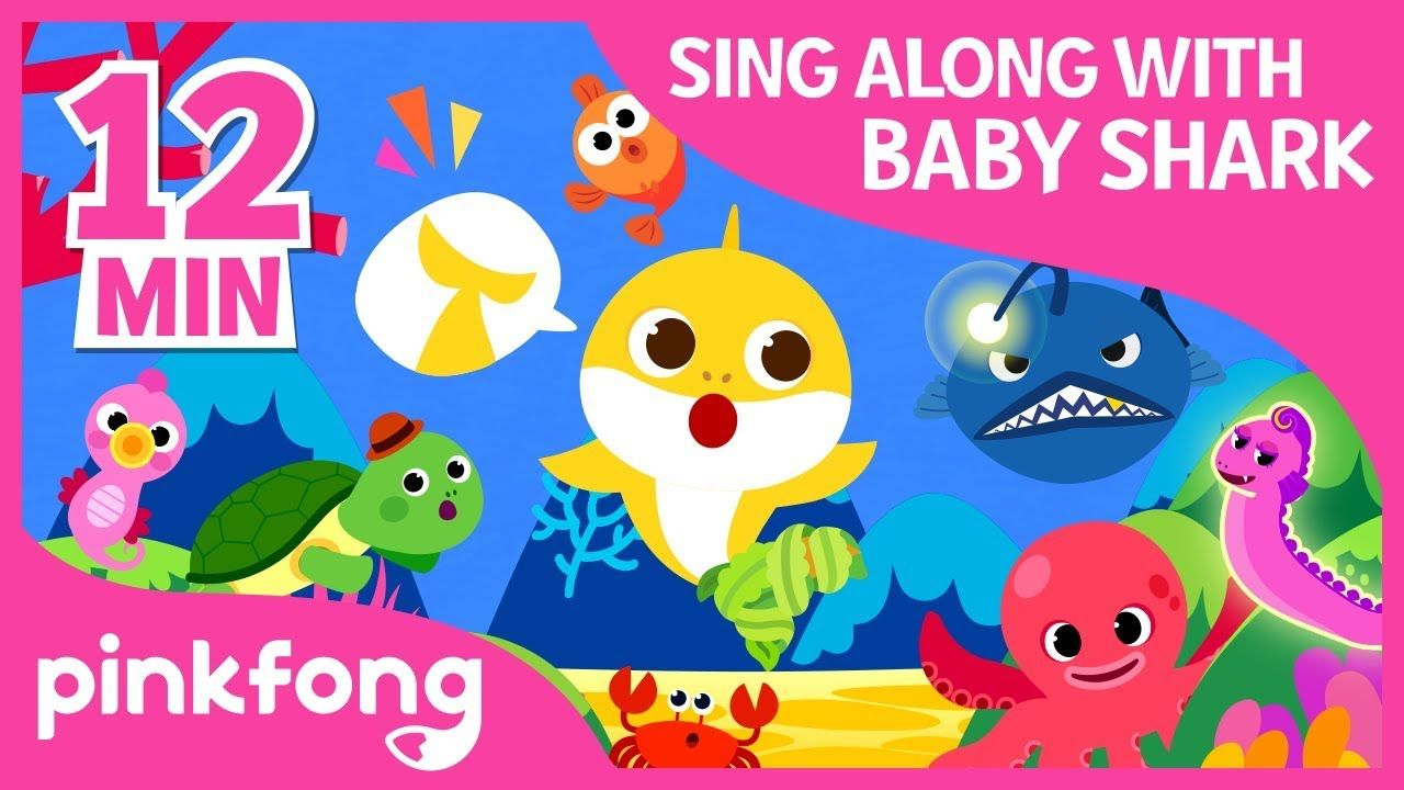 The Shark Dance and more | Sing Along with Baby Shark ...