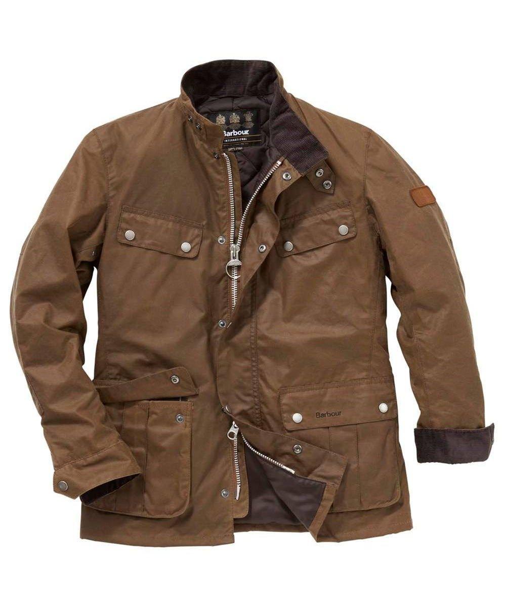 Barbour International Duke Waxed Jacket Rustic