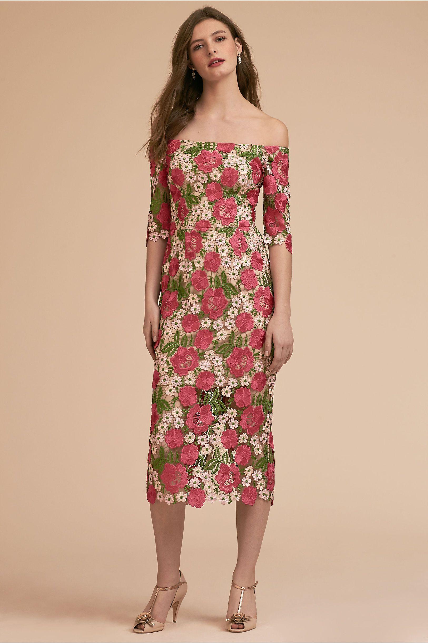 Bhldn tamblyn dress pink multi in occasion dresses bhldn w e a r