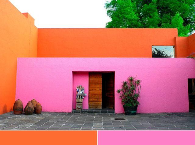 Colores mexicanos arquitectura minimalista arquitectura for Colores en casas minimalistas