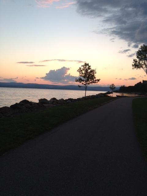 Sunset at Croton Landing