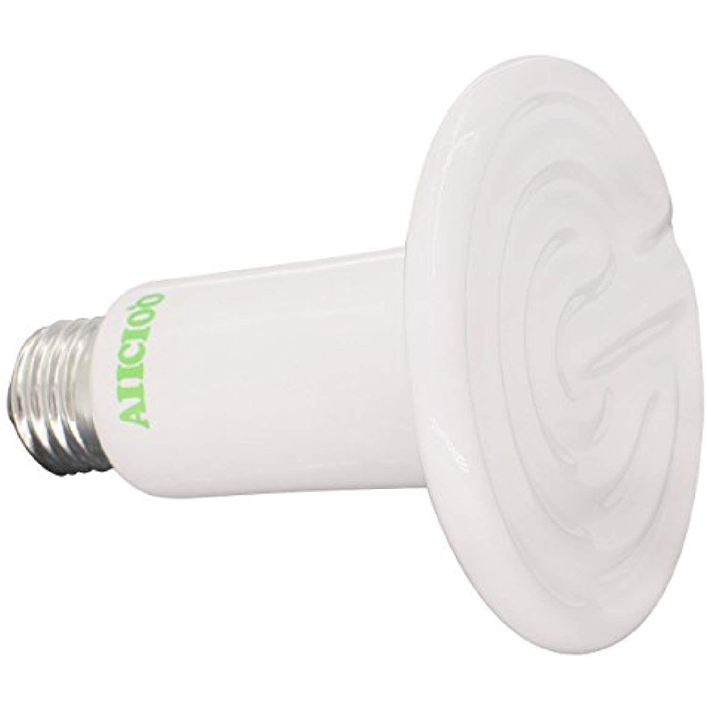 Aiicioo 110v 150 Watt Reptile Ceramic Infrared Heat Emitter Brooder Heater Lamp Bulb White To View Further For This Item Visit Lamp Bulb Bulb Light Bulb