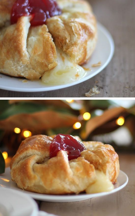 Baked Brie Click for 30 Easy Holiday Appetizer Recipes Easy