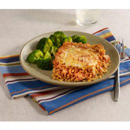"chicken parmesan casserole, from the ""Sneaky Chef"""