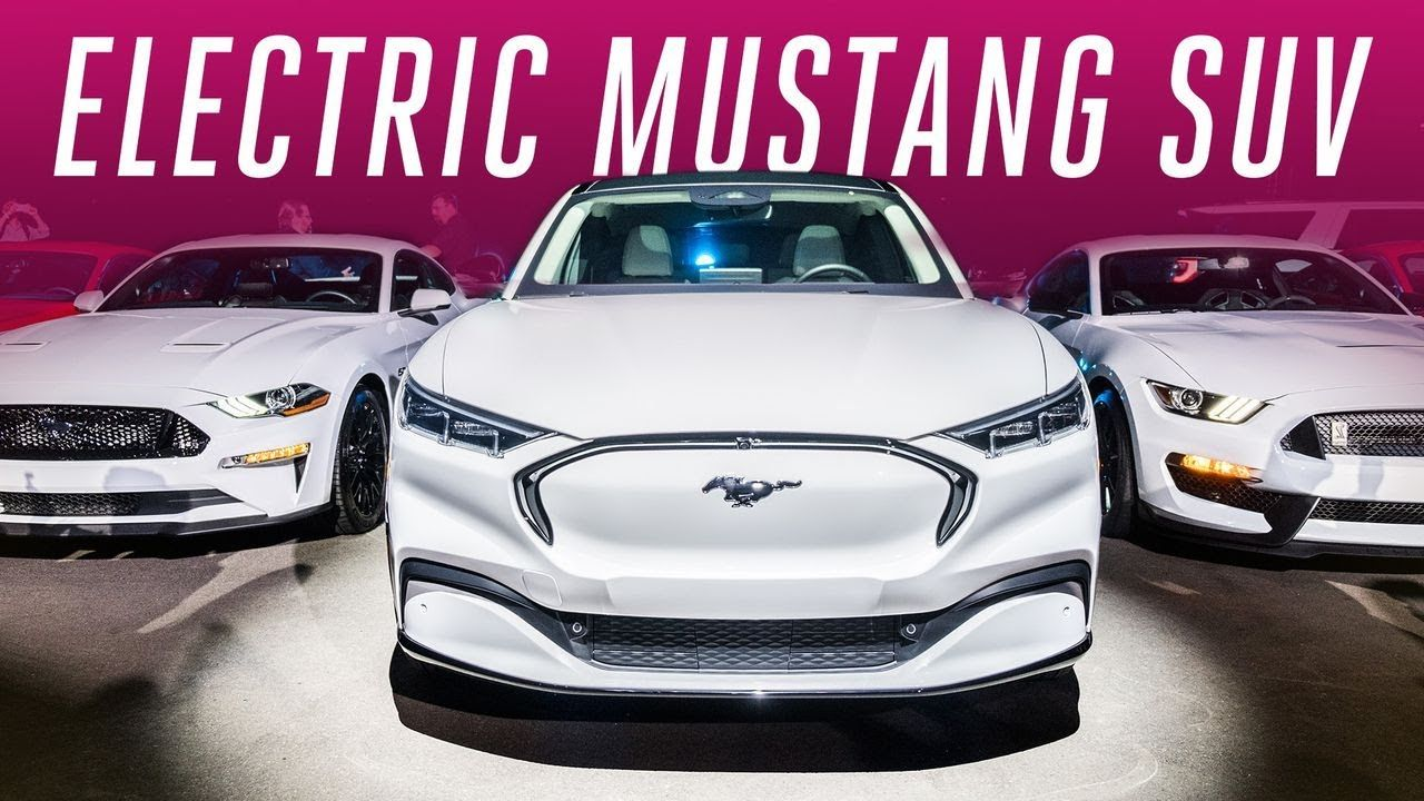 Ford Is Chasing Tesla With An Electric Mustang Car Suv Full Array Of Cars Vws Electrify America Charging Network Youtube Mustang Suv Tesla