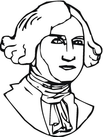 Thomas Jefferson Dibujo para colorear | Dibujos colorear | Pinterest ...
