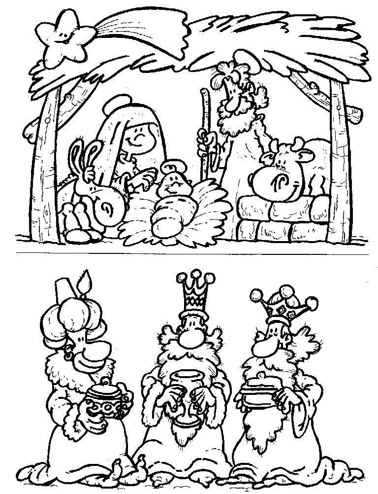 Menta m s chocolate recursos para educaci n infantil - Dibujos de belenes ...